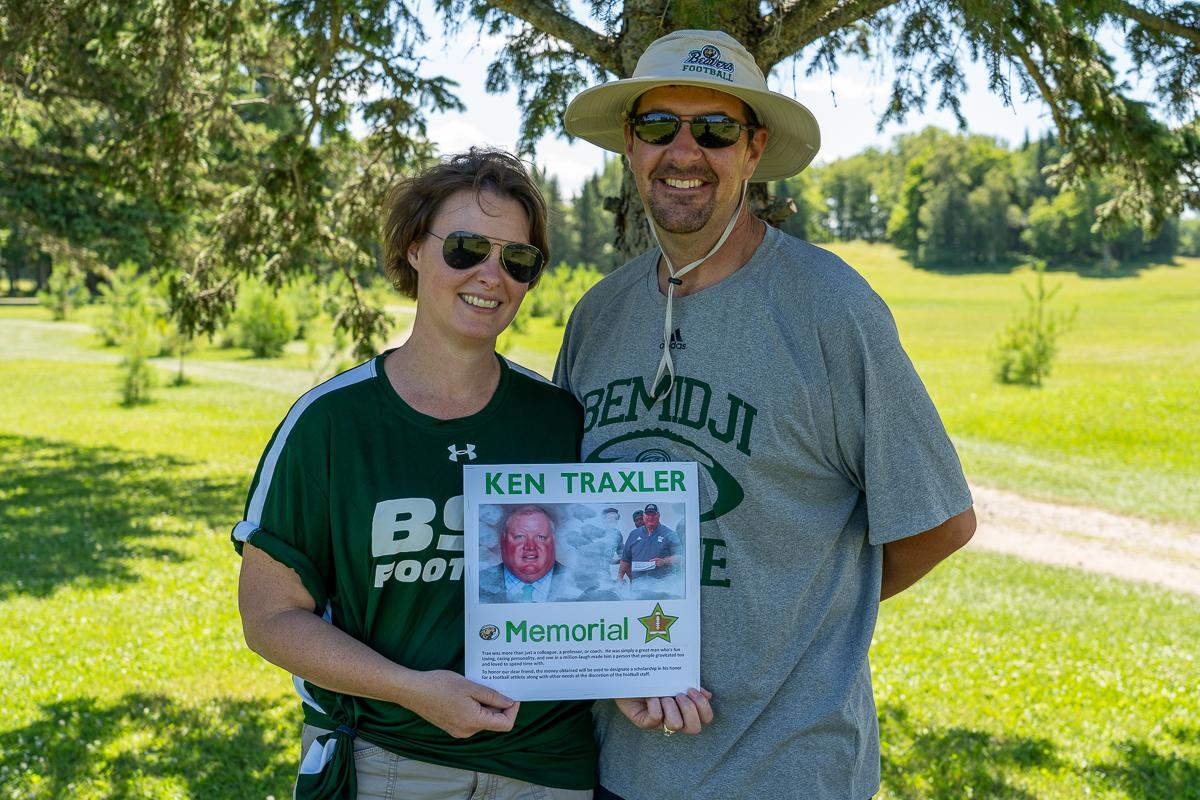 Ken Traxler's sister, Megan Holicky and her husband, Matt