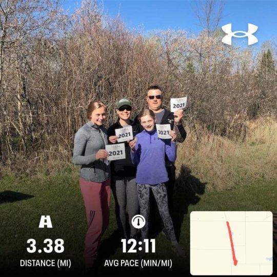 Beaver5K - Christina Derby & Family