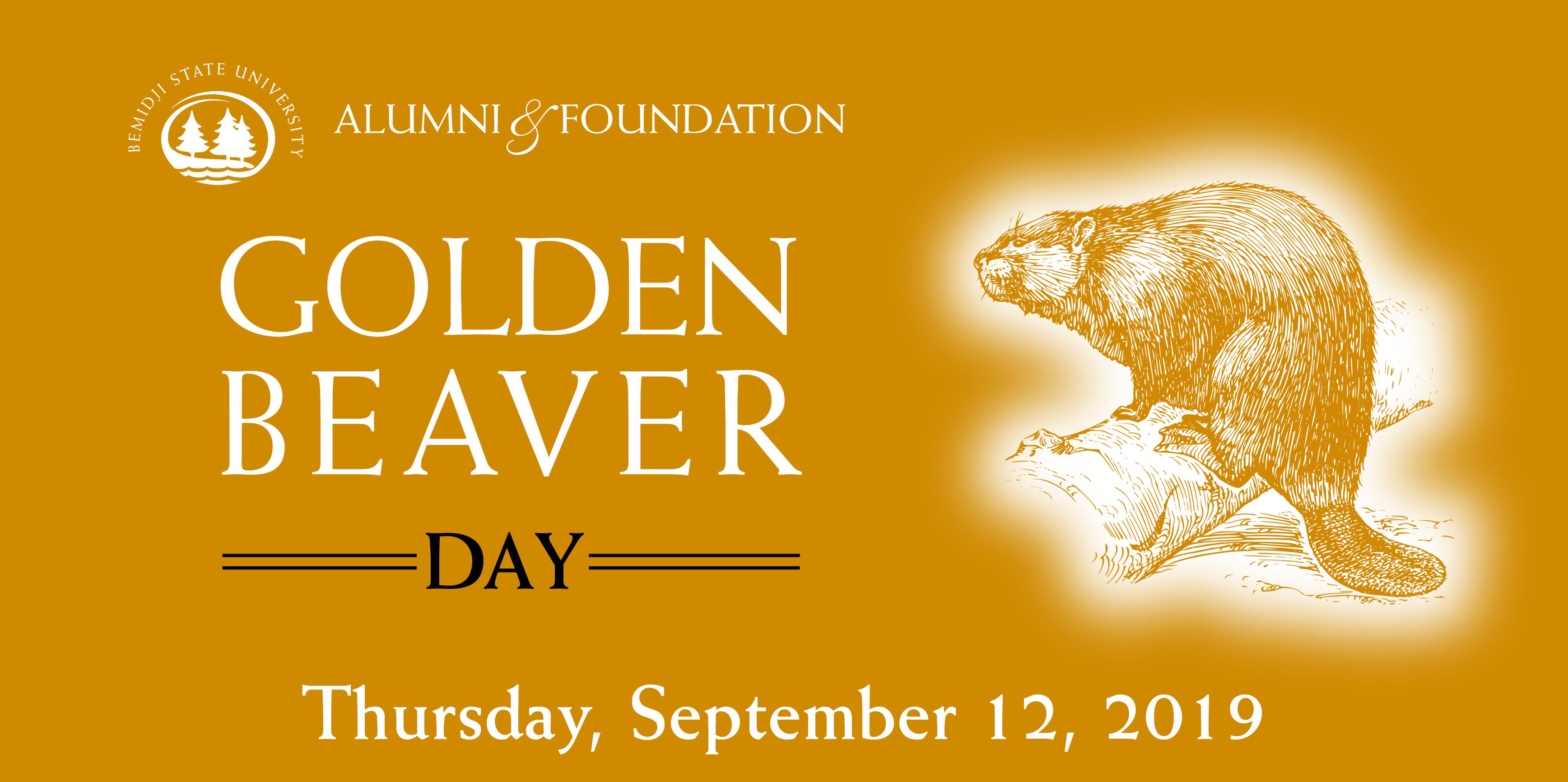 Golden Beaver Day - Sept. 12, 2019