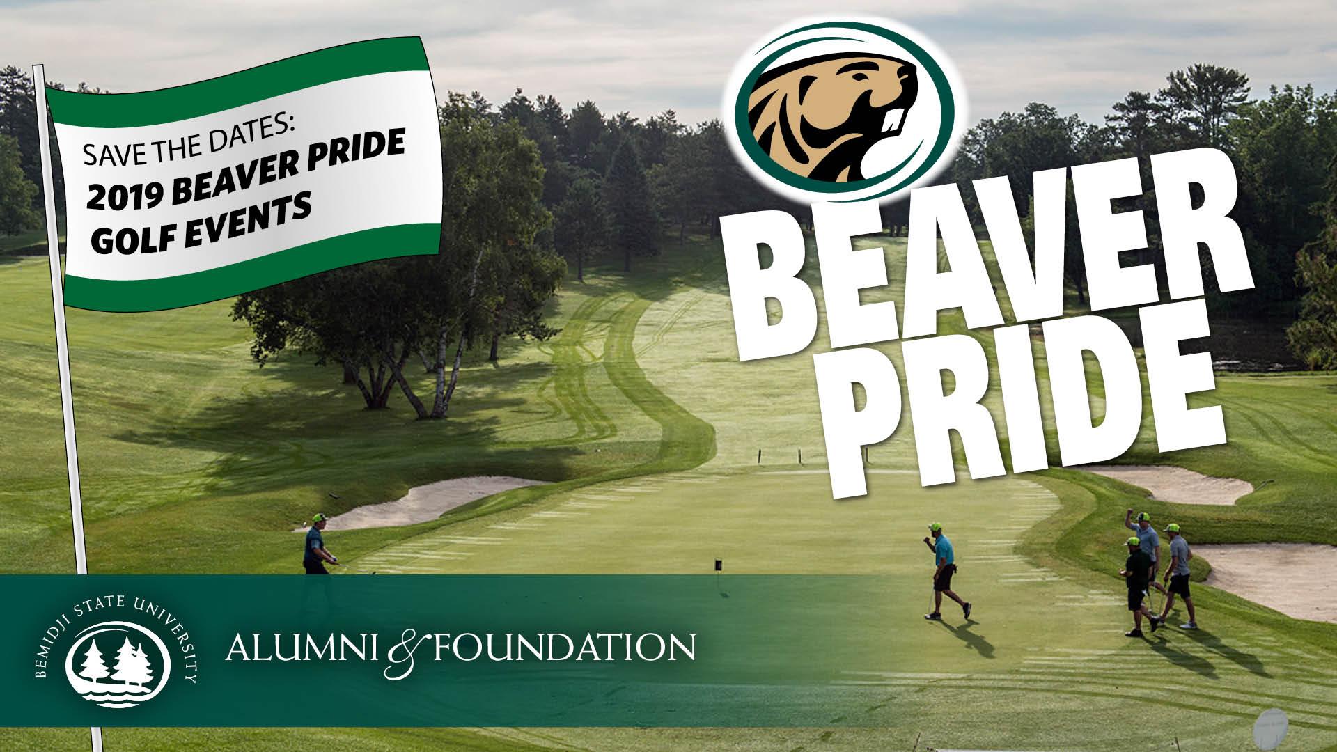 Golf Beaver Pride