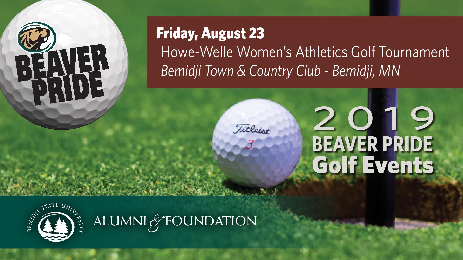 Golf Beaver Pride: Howe-Welle Women's Athletics Golf Tournament