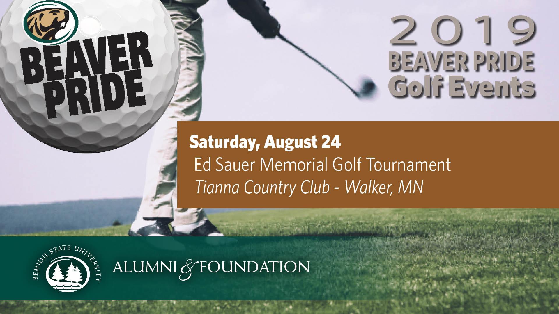Golf Beaver Pride: Ed Sauer Memorial Golf Tournament