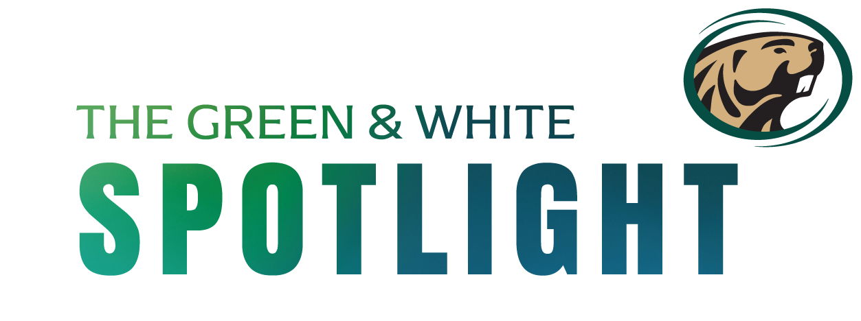 The Green & White Spotlight