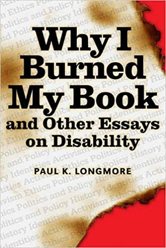 Why I burned this book